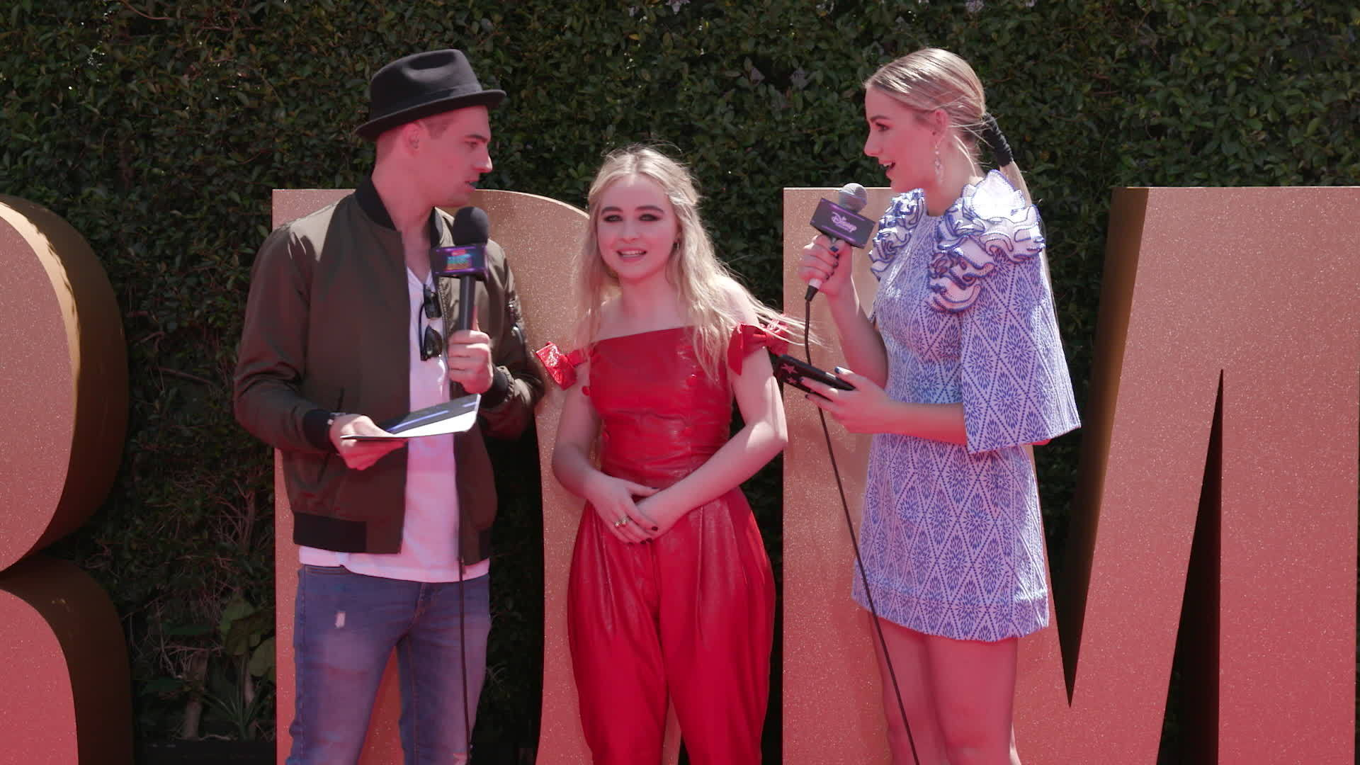 Sabrina Carpenter Red Carpet Interview | 2017 Radio Disney Music Awards