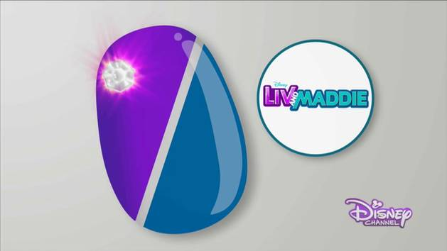 Liv and Maddie - Nail Art