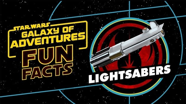 Lightsabers | Star Wars Galaxy of Adventures Fun Facts