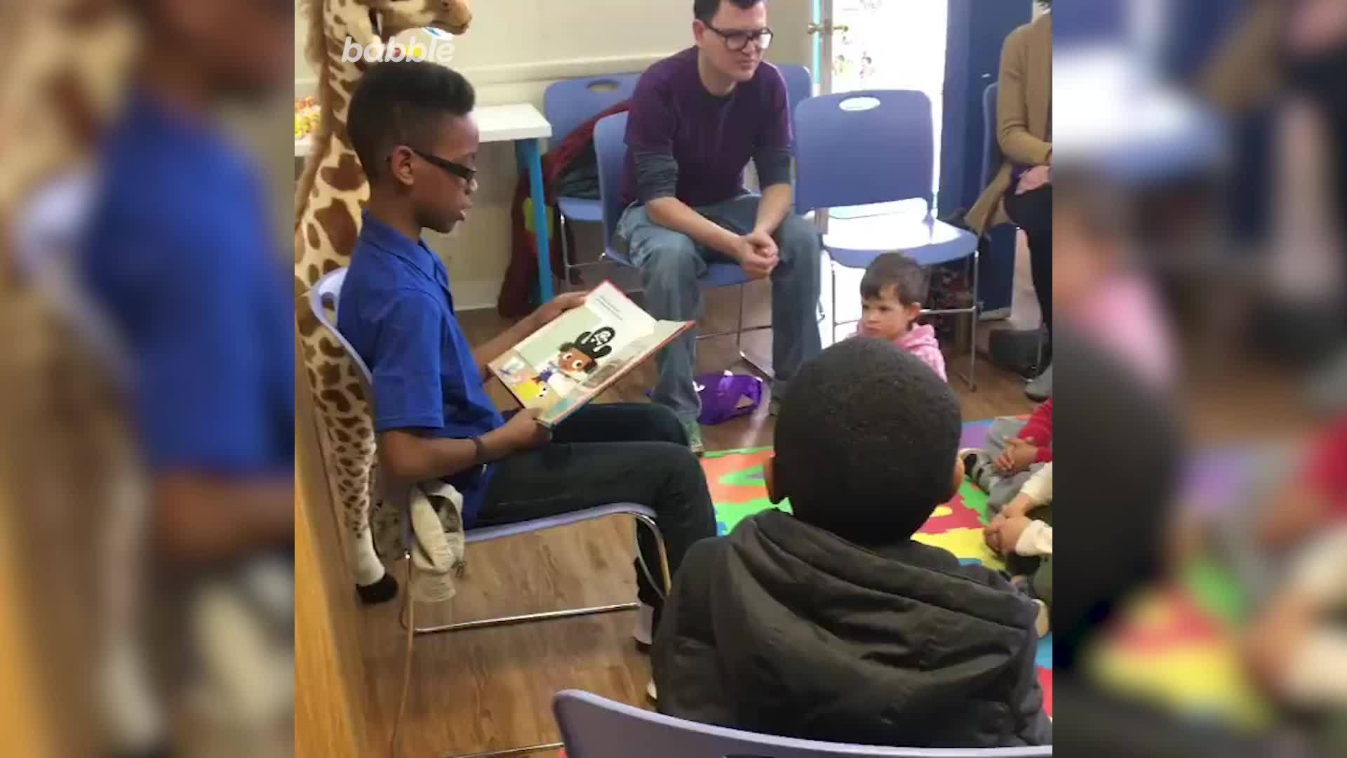 12-Year-Old Boy Starts Book Club to Celebrate African-American Literature | Babble Buzz by Babble