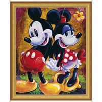 Image of Mickey Mouse and Minnie ''Two Hearts'' Giclée by Darren Wilson # 8
