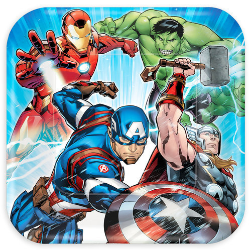 Avengers Lunch Plates