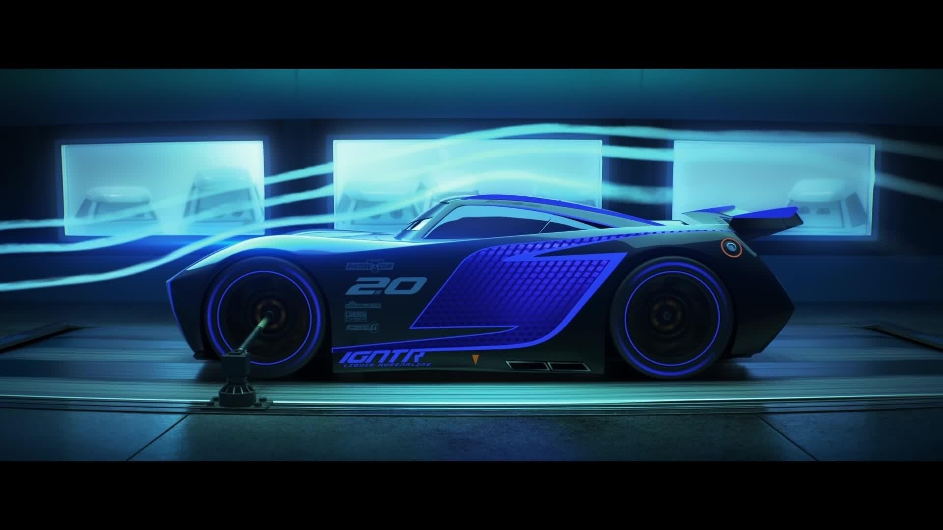 Cars 3 | Storm doet mee aan de race
