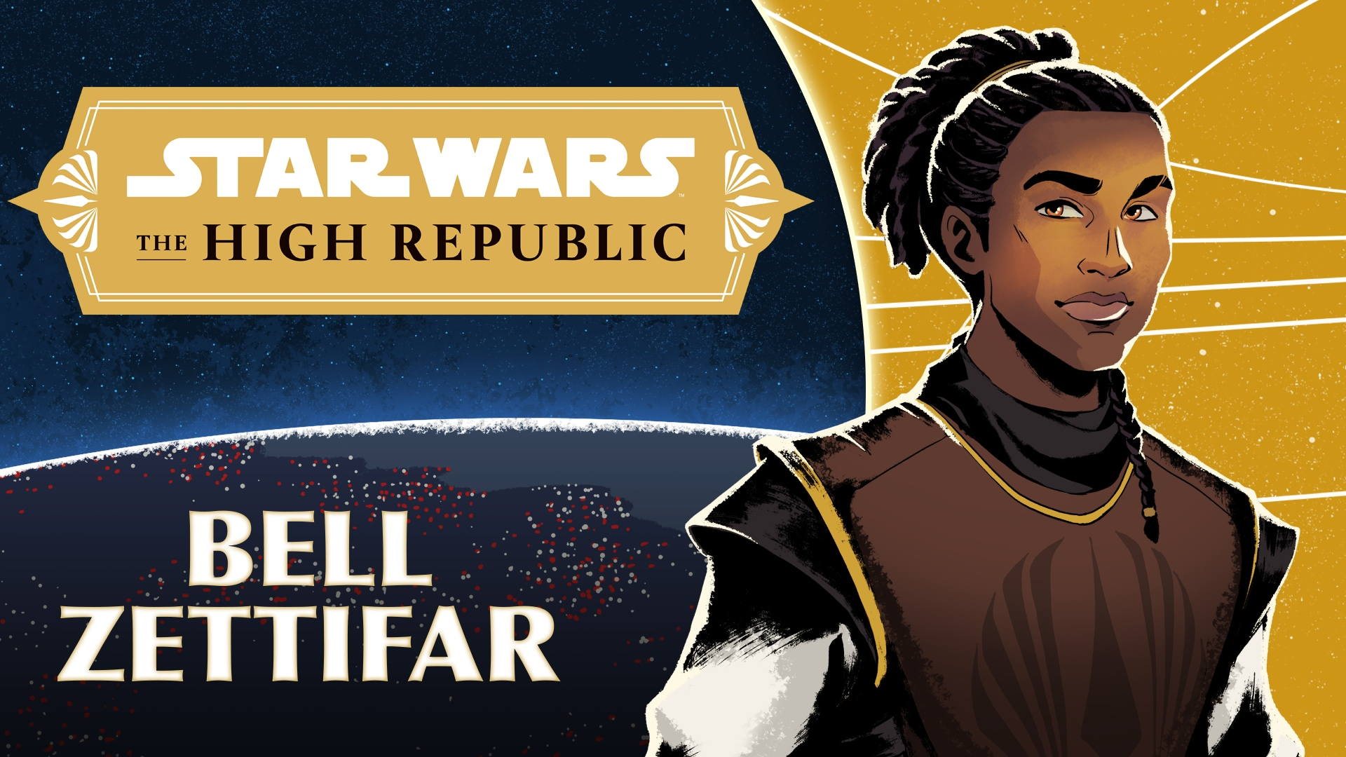Jedi Padawan Bell Zettifar | Characters of Star Wars: the High Republic