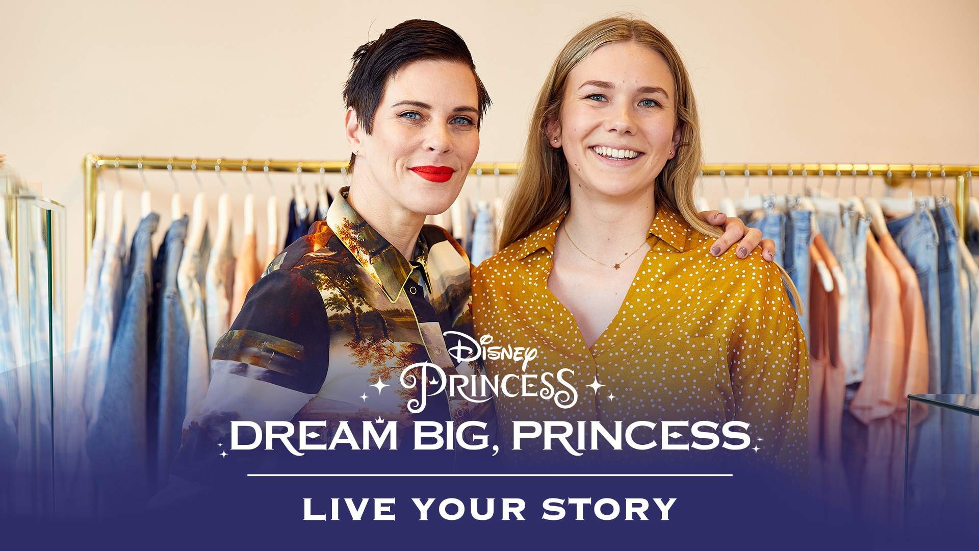 Dream Big, Princess - Sarah Meets Karen Walker | Disney