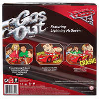 Image of Lightning McQueen Gas Out Game by Mattel # 3