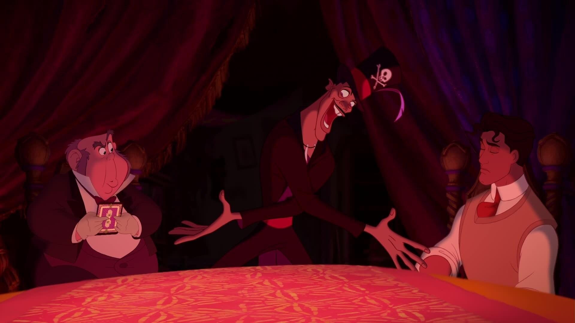 La Princesse et la Grenouille - Chanson : Mes Amis de l'Au-Delà (par Dr Facilier)