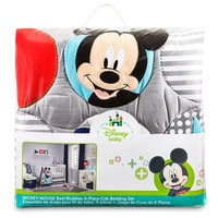 Image of Mickey Mouse Best Buddies Crib Bedding Set # 2