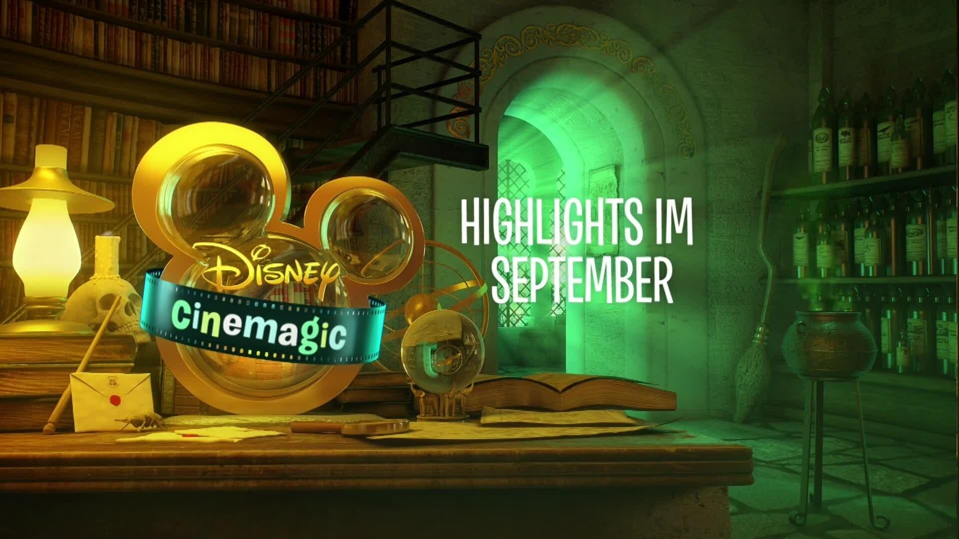 Disney Cinemagic - Die Highlights im September 2017