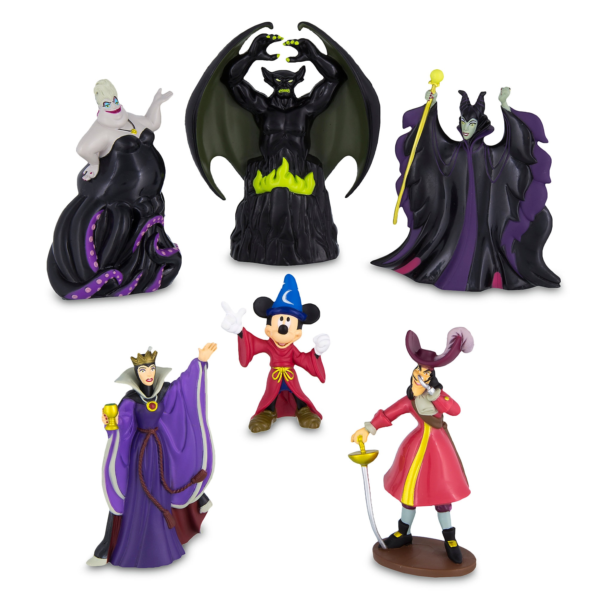 Sorcerer Mickey Mouse vs. Disney Villains Collectible Figures