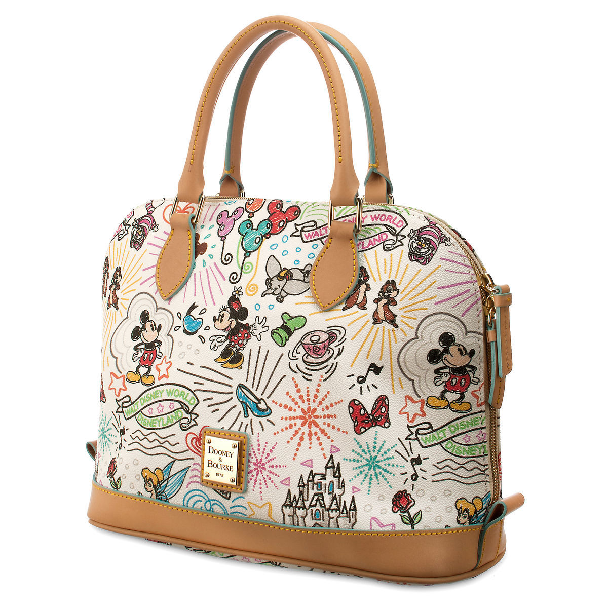 Product Image of Disney Sketch Zip Satchel by Dooney & Bourke # 1