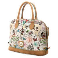 Image of Disney Sketch Zip Satchel by Dooney & Bourke # 1