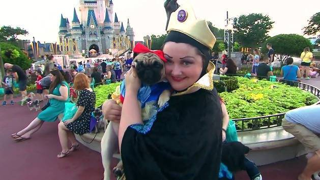 America's Cutest: Disney Side Howl-O-Ween