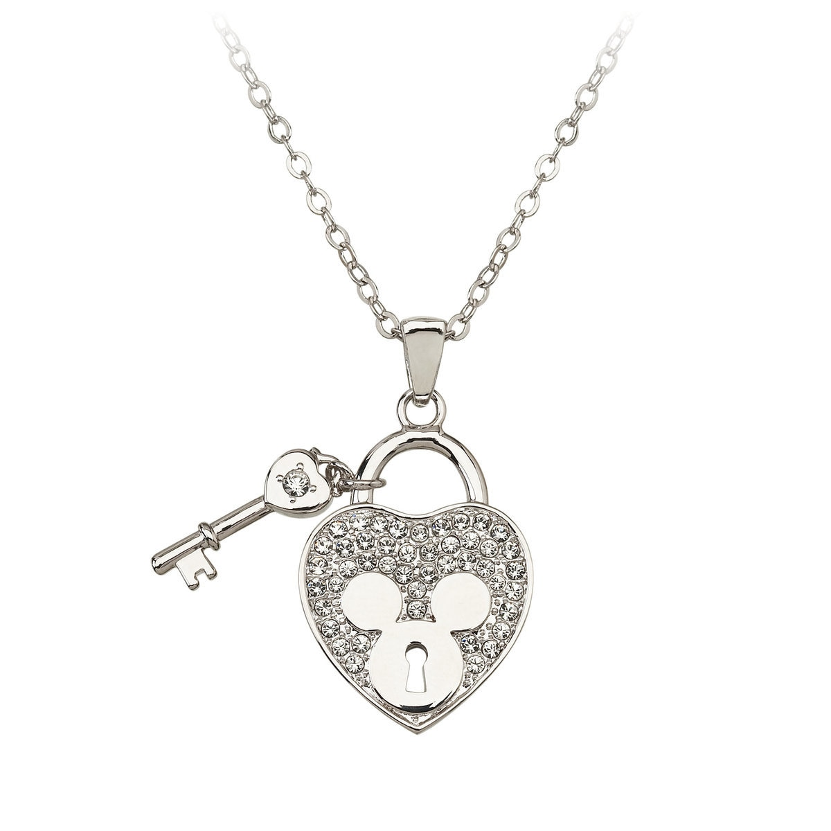 nevada necklace heart sterling jewellery silver diamond