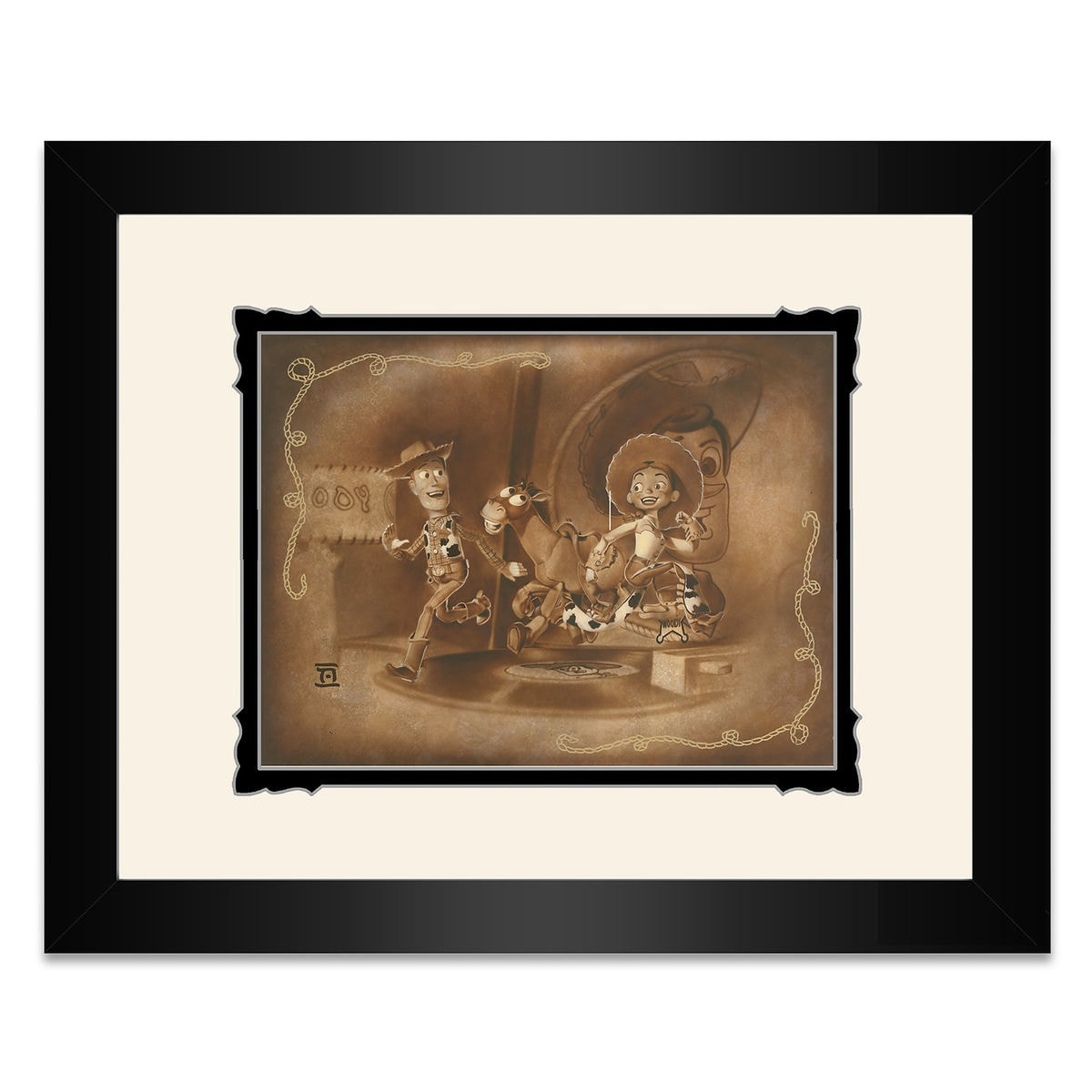 Toy Story \'\'Round Up Gang\'\' Framed Deluxe Print by Noah | shopDisney