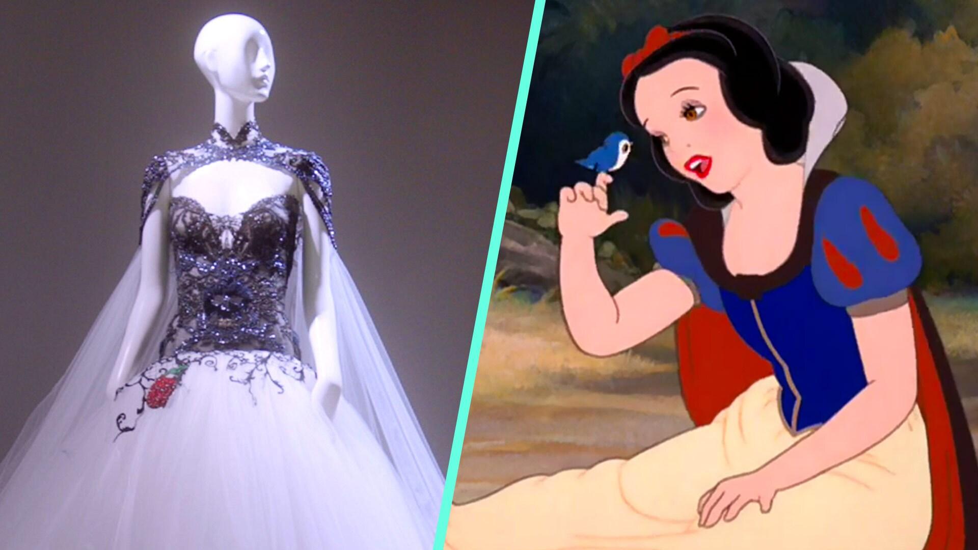 "Fashion Designers Naeem Kahn & Alberta Ferretti Explore Snow White's ""Anatomy of Style"""