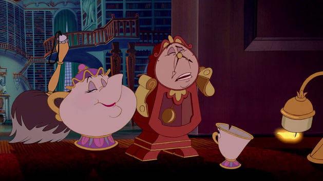 Las tazas de té al rescate - La Bella y la Bestia