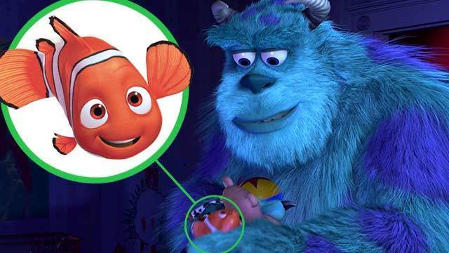 The Best Pixar Easter Eggs - Oh My Disney