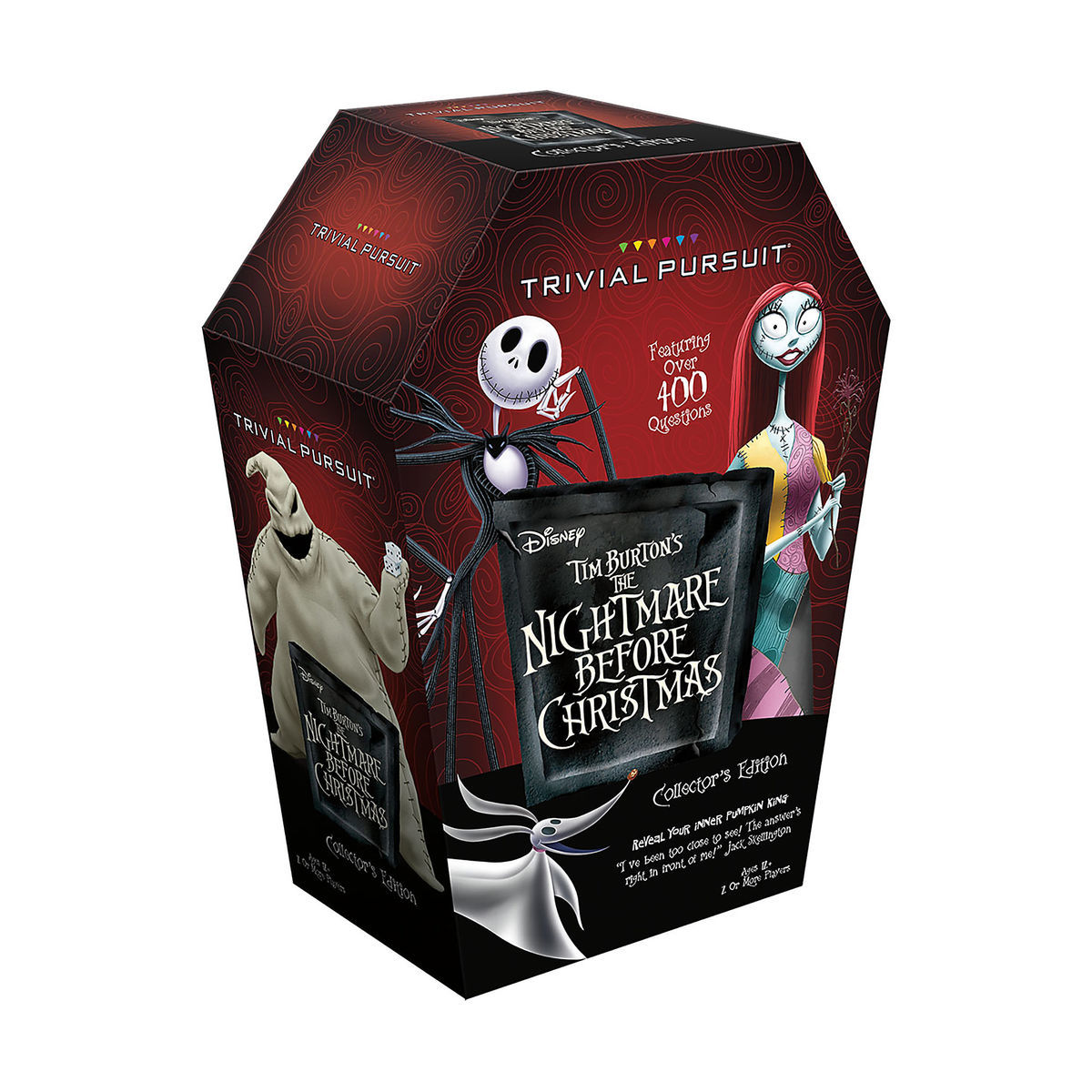 Tim Burton\'s The Nightmare Before Christmas Trivial Pursuit Game ...