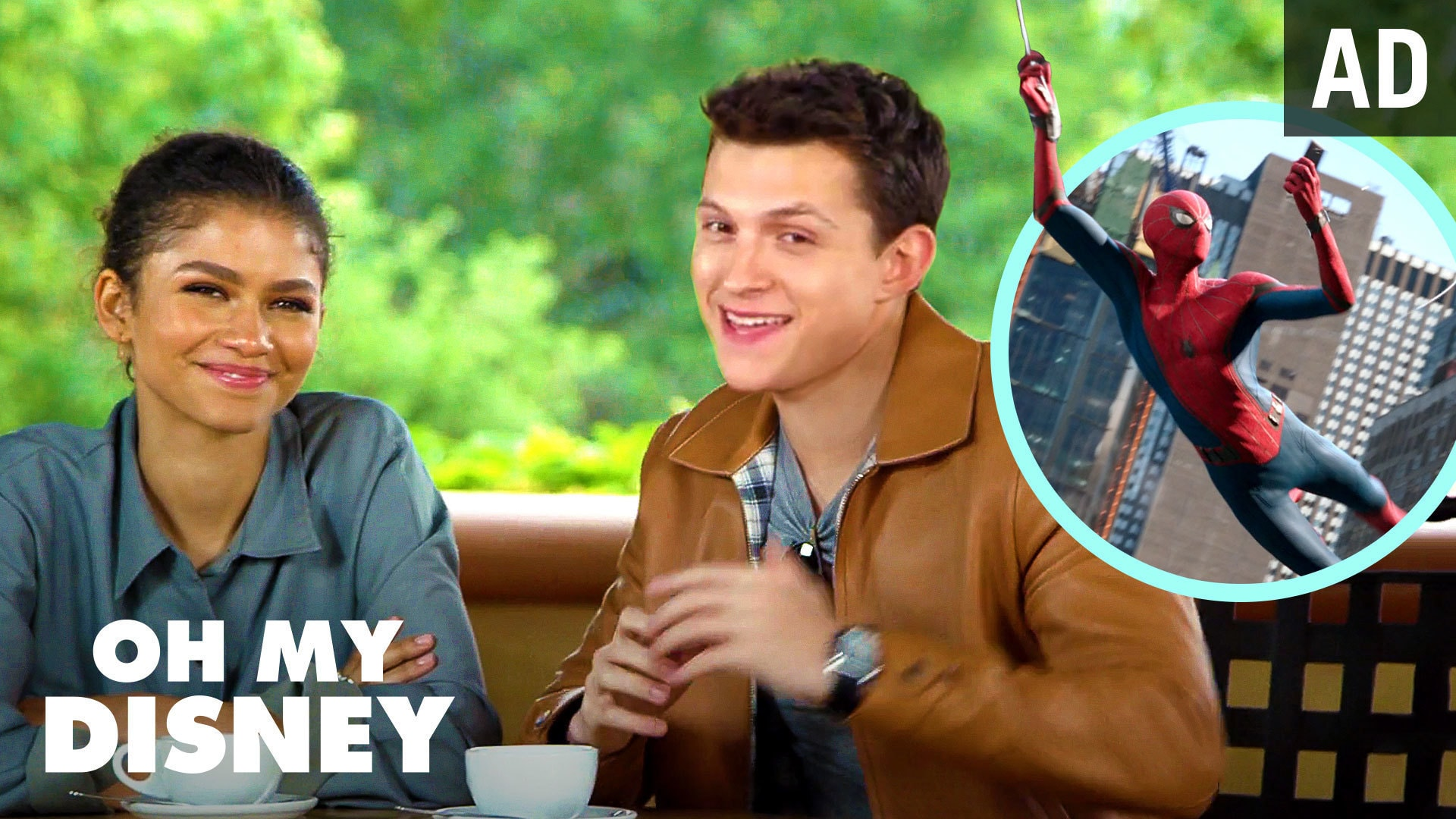 Spider-Man: Far From Home Cast Shares Their Experience Filming Abroad | Oh My Disney