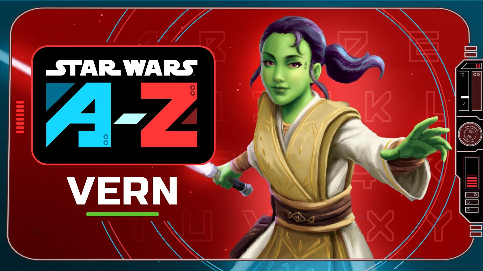 Vernestra Rwoh   Star Wars A to Z