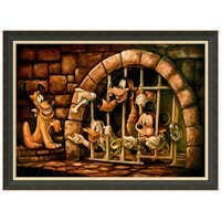 Image of Mickey Mouse Pirates of the Caribbean ''Here Poochie'' Giclée by Darren Wilson # 6