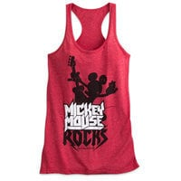Mickey Mouse Rock 'n Roller Coaster Tank Tee for Women