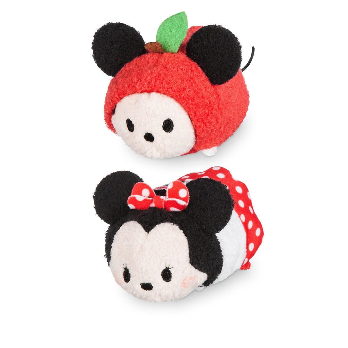 Mickey And Minnie Mouse Tsum Tsum Plush New York Set Mini 3 1