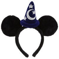 Image of Sorcerer Mickey Mouse Ear Headband # 1