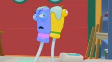 A Sticky Fit - Clip - Handy Manny