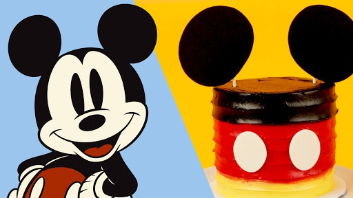 Mickey Mini Cake | Disney Family