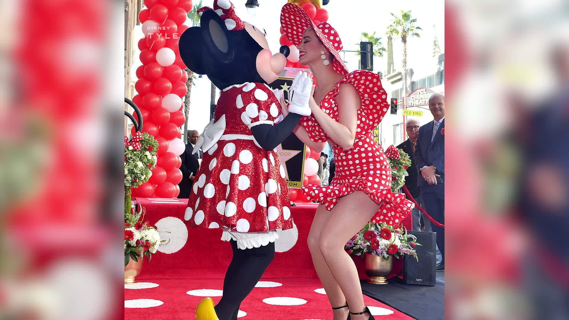 Katy Perry Gives Minnie Mouse Her Star on the Hollywood Walk of Fame