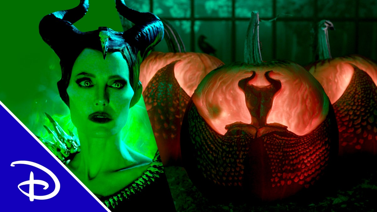 Maleficent: Mistress of Evil Pumpkin Carving | Disney