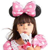 Image of Minnie Mouse Ear Headband for Kids - Pink # 2