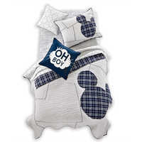 Image of Ethan Allen Mickey Stripe Bedding Collection # 1