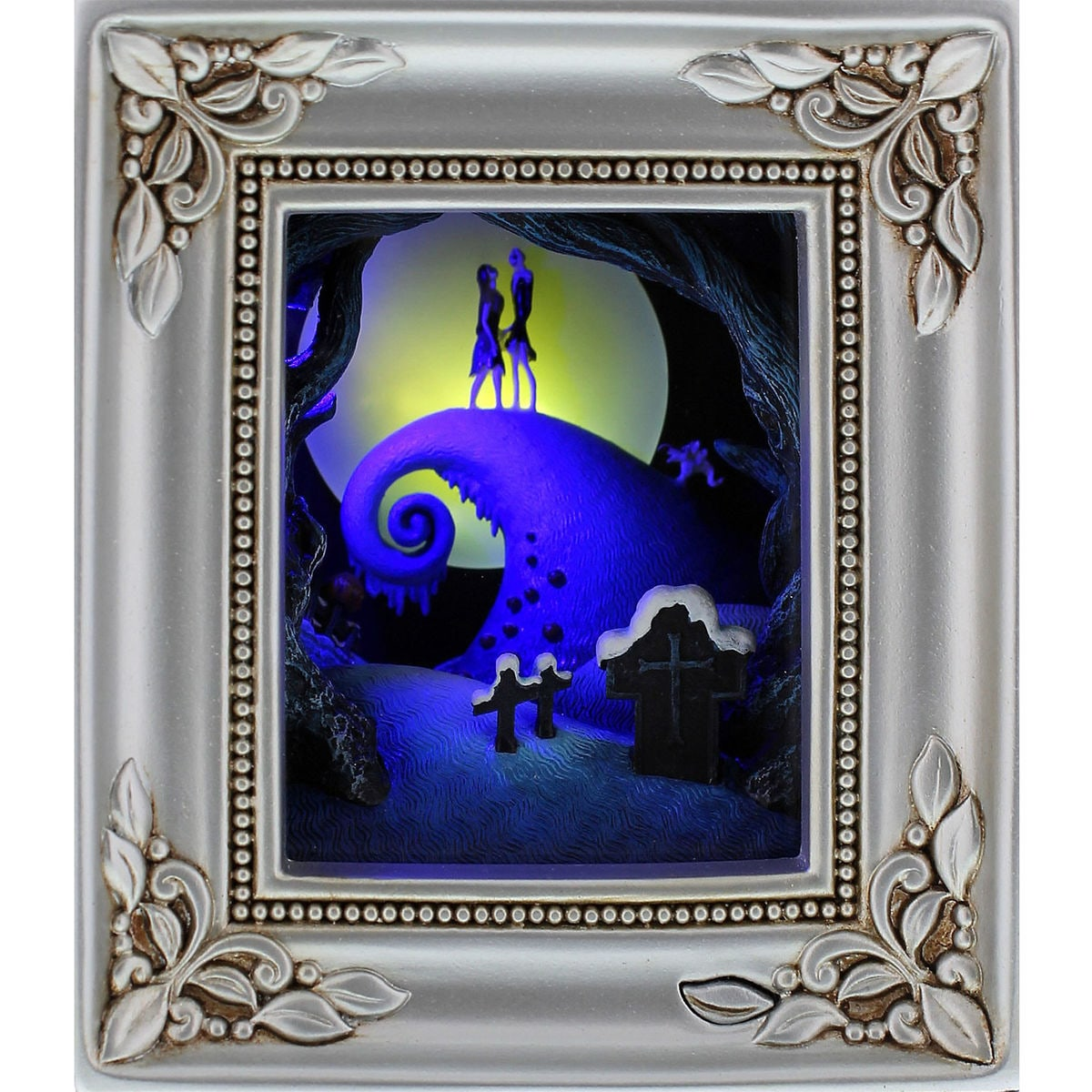 Tim Burton\'s The Nightmare Before Christmas \'\'Jack and Sally Embrace ...