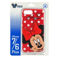 Image of Minnie Mouse Leather iPhone 7/6 Plus Case # 2