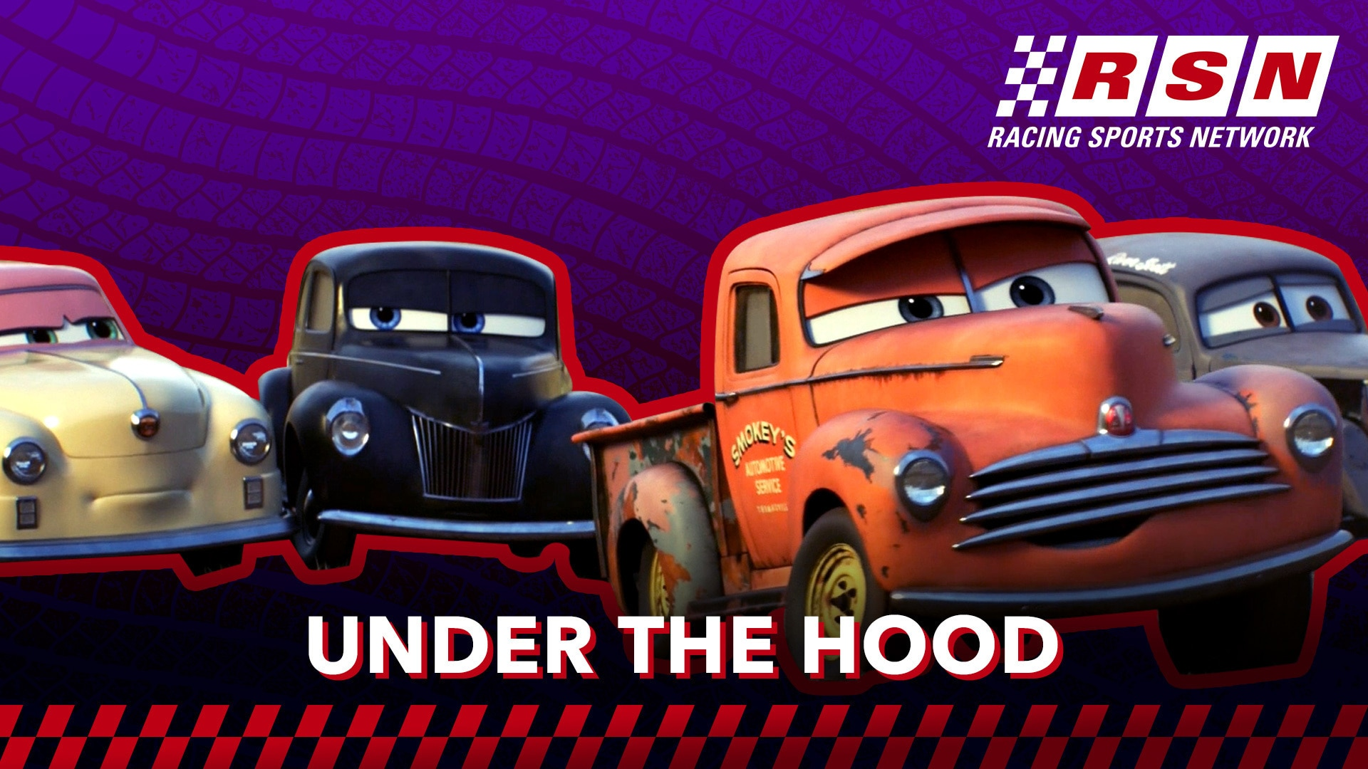 Under the Hood: Cars Legends | Racing Sports Network by Disney•Pixar Cars