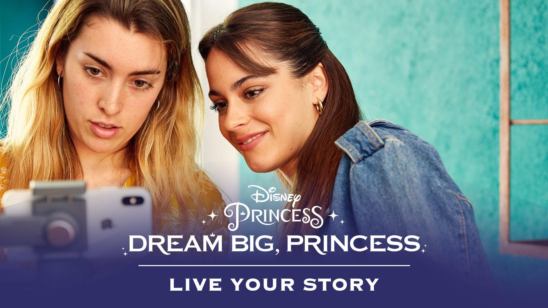 Dream Big, Princess - Eugenie Meets Martina Stoessel | Disney
