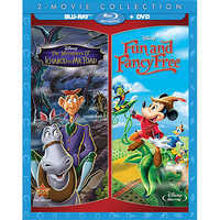 Image of The Adventures of Ichabod and Mr. Toad + Fun and Fancy Free 2-Movie Blu-ray Collection # 1