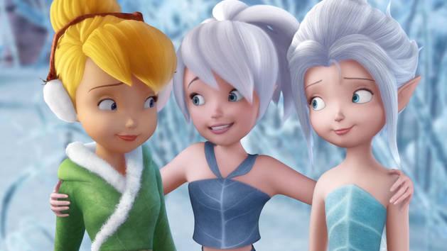 Les Fées Disney - Extrait - Une fée de l'été en plein hiver