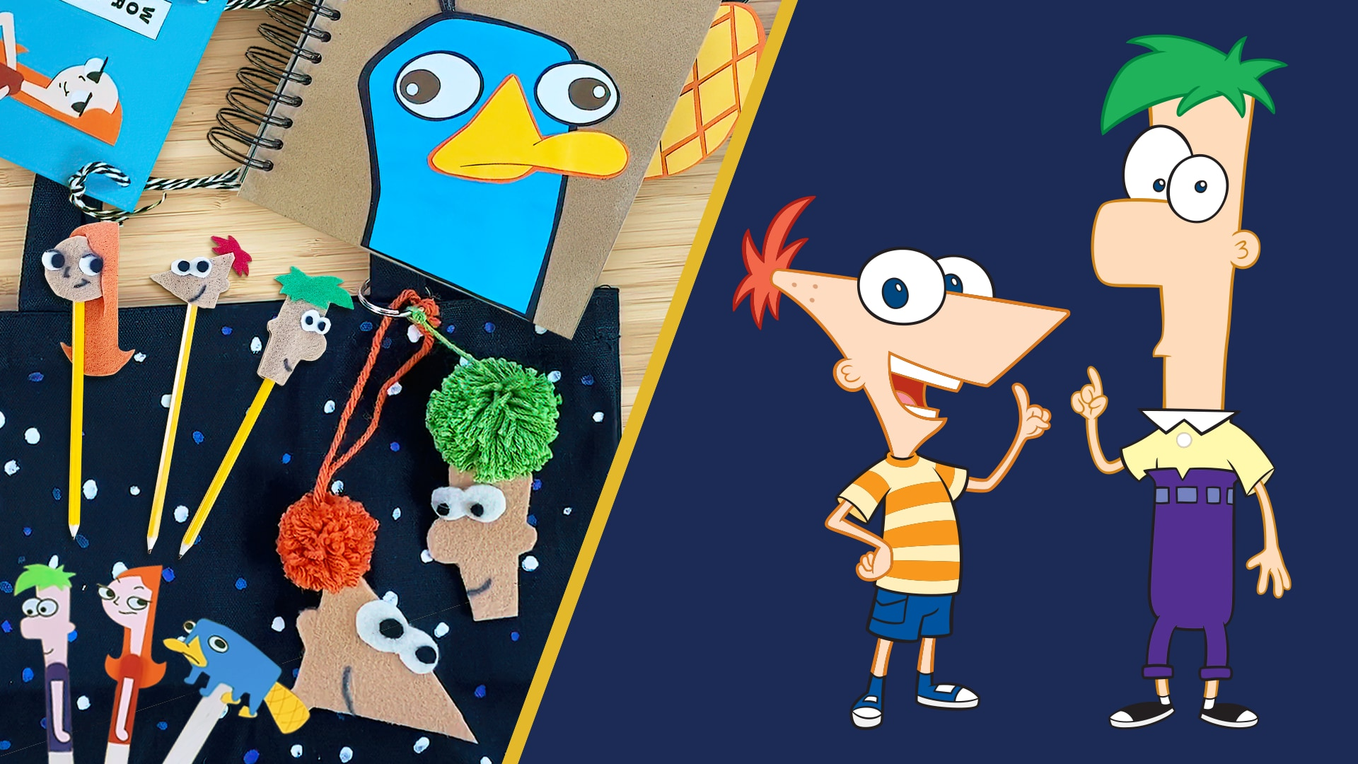 5 Phineas and Ferb the Movie: Candace Against the Universe Crafts | Disney DIY by Disney Family