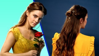 Disney Style Beauty And The Beast Belle Hair Tutorial