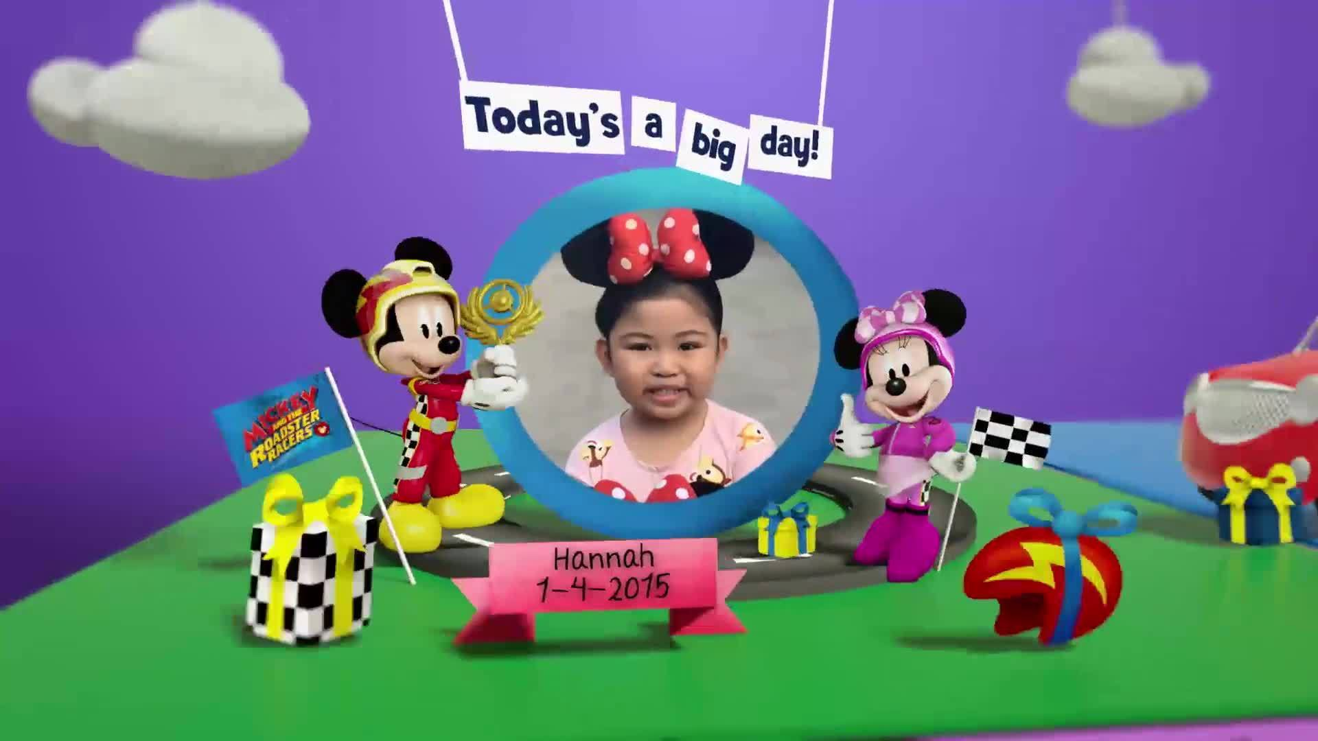 Disney Junior Birthday Book 2020 April Album 3