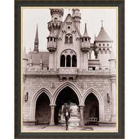 Image of Walt Disney at Sleeping Beauty Castle Giclé # 7