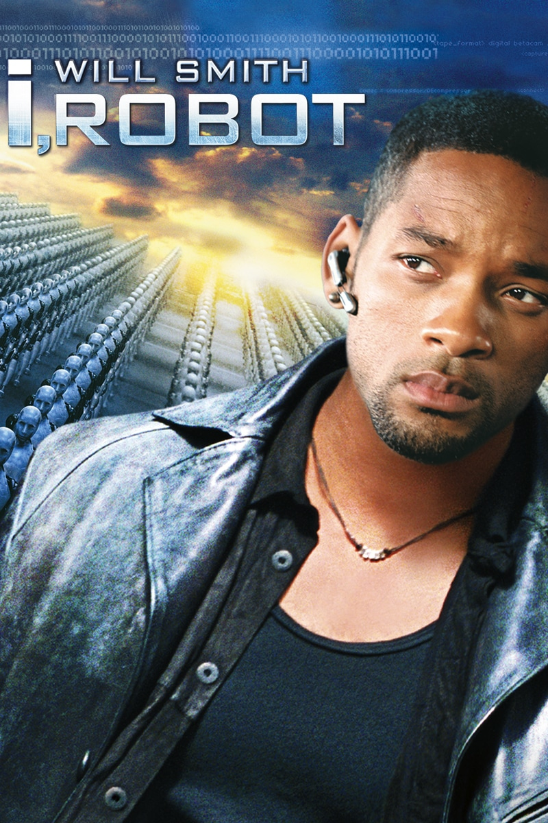 i,Robot starring Will Smith movie poster