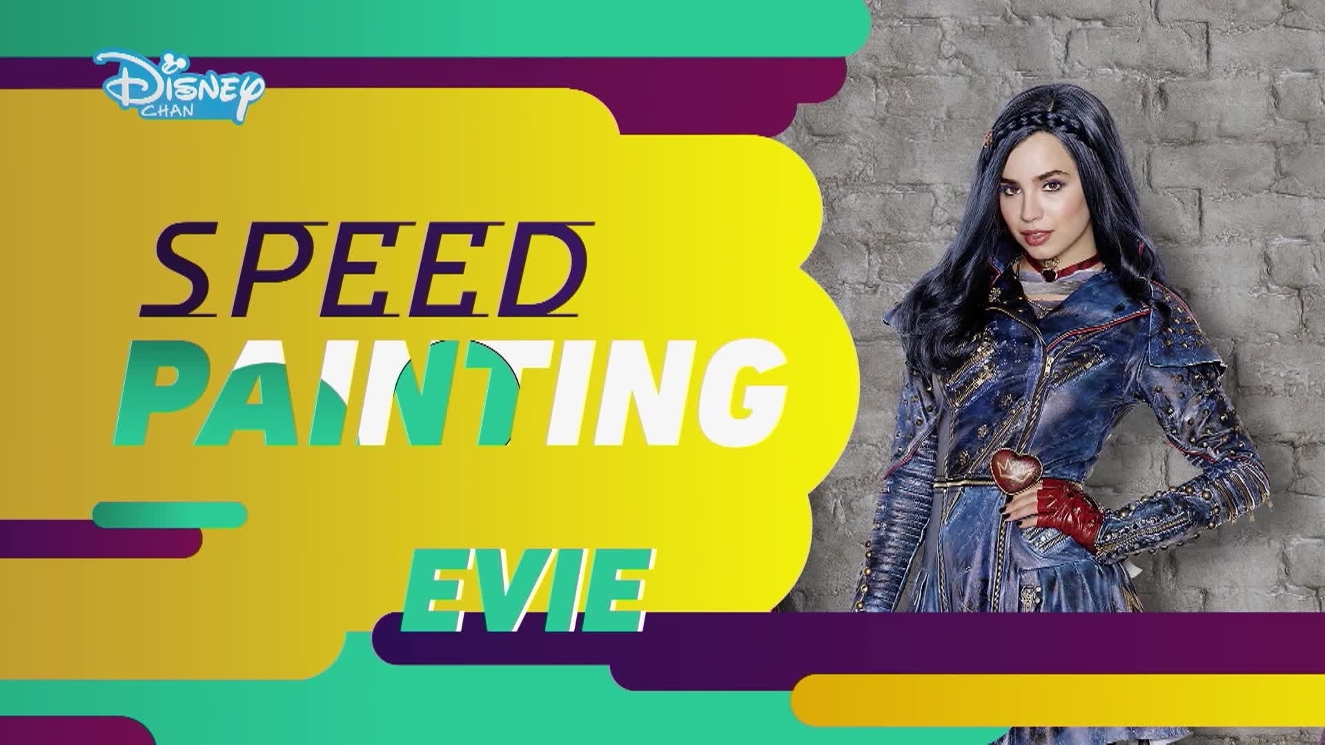 Os Descendentes 2: Speed Painting - Evie