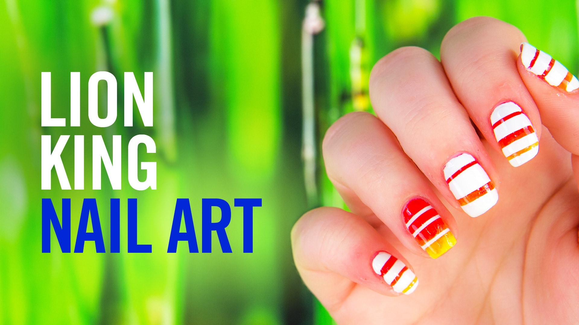 Disney's The Lion King Nail Art