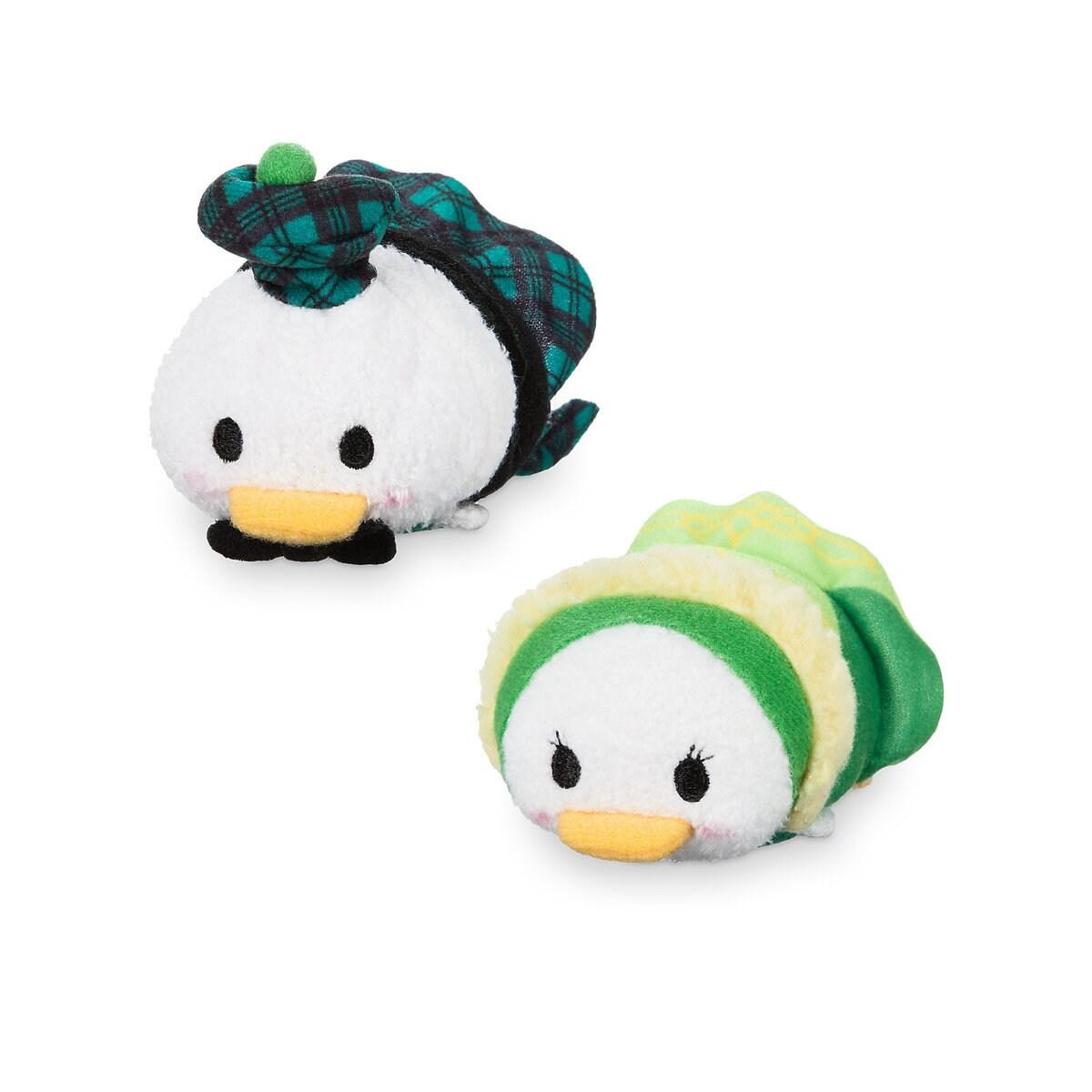 Donald and Daisy Duck Tsum Tsum Plush Set  Mini  3 12