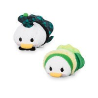 Donald and Daisy Duck ''Tsum Tsum'' Plush Set - Mini - 3 1/2'' - Ireland